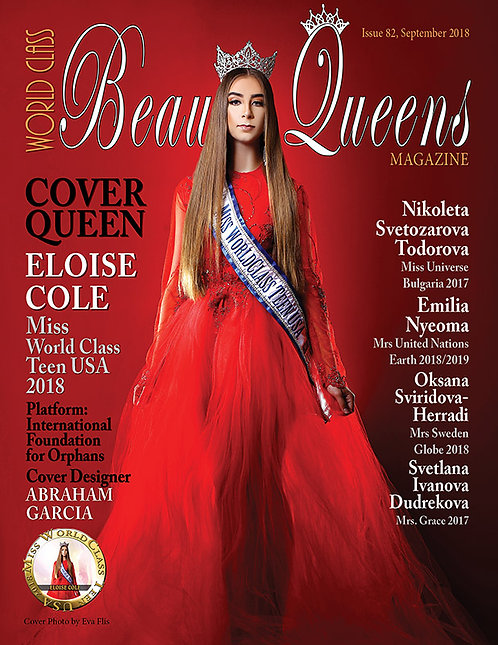 Issue 82 World Class Beauty Queens Magazine