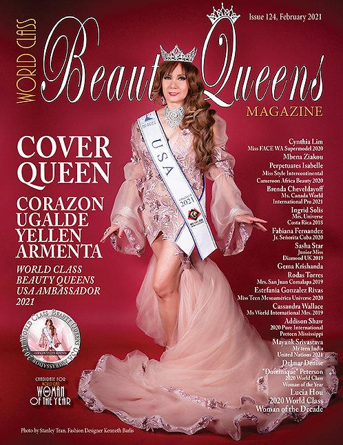 Issue 124 World Class Beauty Queens Magazine