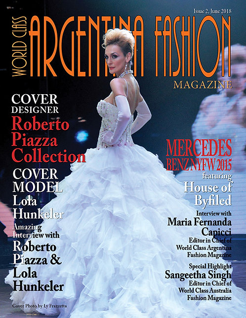 Issue 2 World Class Argentina Fashion Magazine