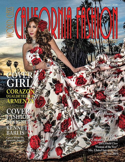 Issue 1 World Class California Fashion Magazine