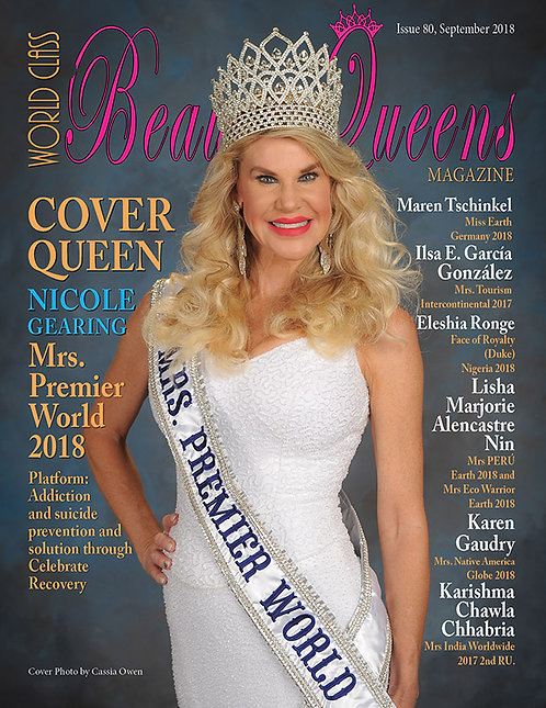 Issue 80 World Class Beauty Queens Magazine