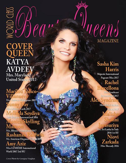 Issue 45 World Class Beauty Queens Magazine
