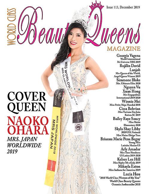 Issue 113 World Class Beauty Queens Magazine