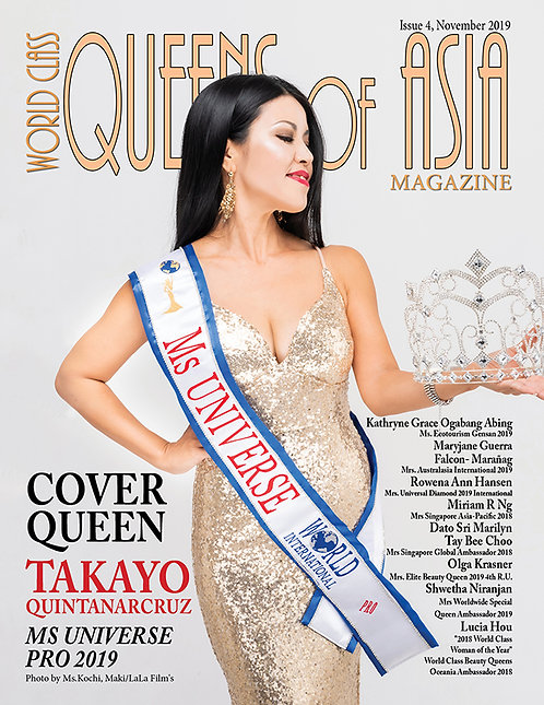 Issue 4 World Class Queens of Asia Magazine