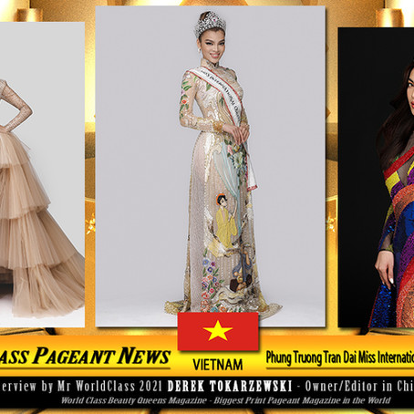 Phung Truong Tran Dai Miss International Queen Vietnam 2020