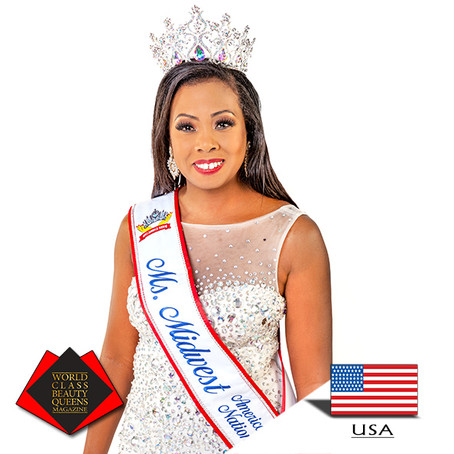 Dominique Peterson Ms. Midwest America Nation 2018