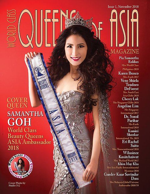 Issue 1 World Class Queens of Asia Magazine