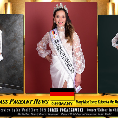 Mary Mae Torres Kuberka Mrs Universe Germany 2020