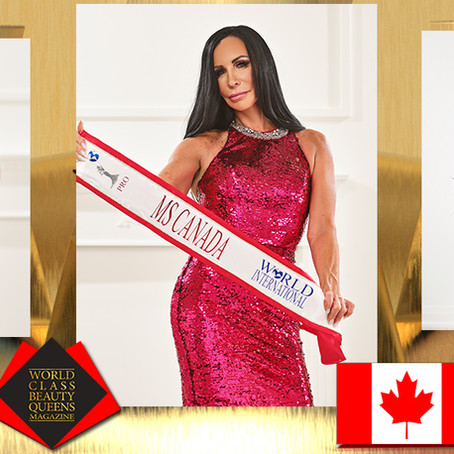 Brenda Cheveldayoff Ms. Canada World International Pro 2021