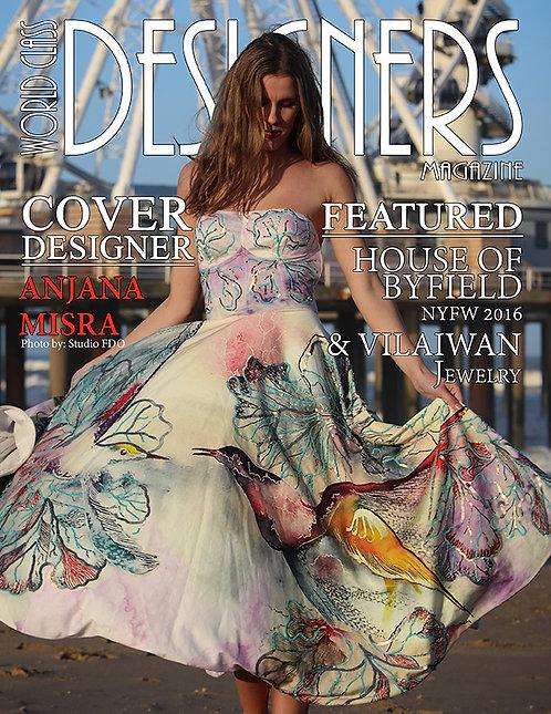 Issue 4 World Class Designers Magazine