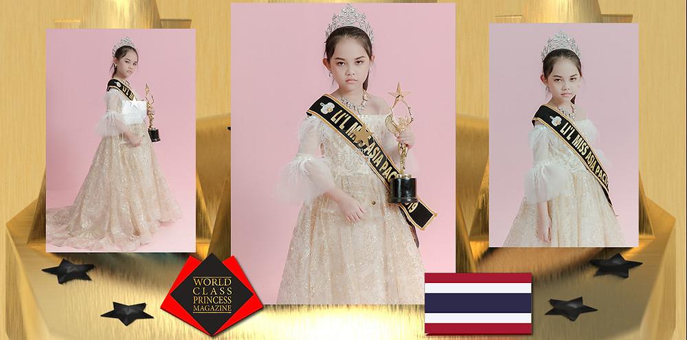 Supanida Paosatheanpan Lil Miss Asia Pacific 2019, World Class Princess Magazine,