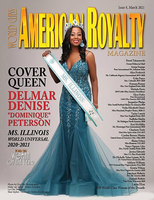 Issue 8 World Class American Royalty Magazine