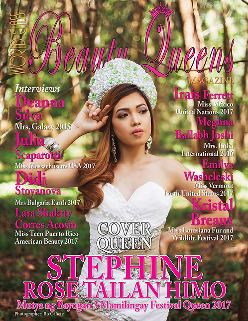 Issue 34 World Class Beauty Queens Magazine
