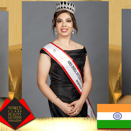 Upaasana Kalia Mrs India International Queen 2020