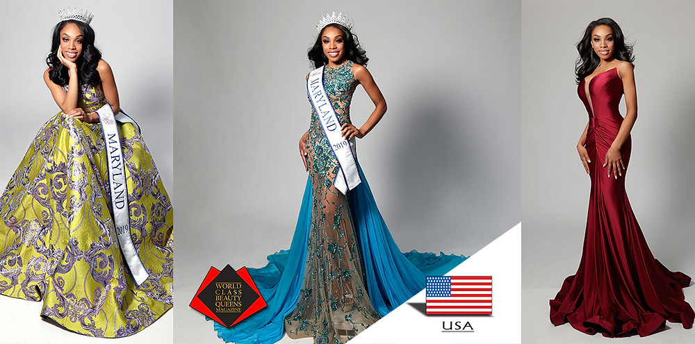 Taylor Bodine Mrs. Maryland United States 2019, World Class Beauty Queens Magazine,