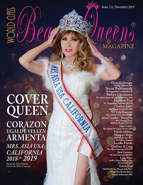 Issue 111 World Class Beauty Queens Magazine