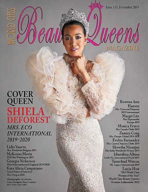 Issue 115 World Class Beauty Queens Magazine