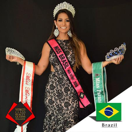 Alyssa Freitas Miss Brasil Model's Secret 2018