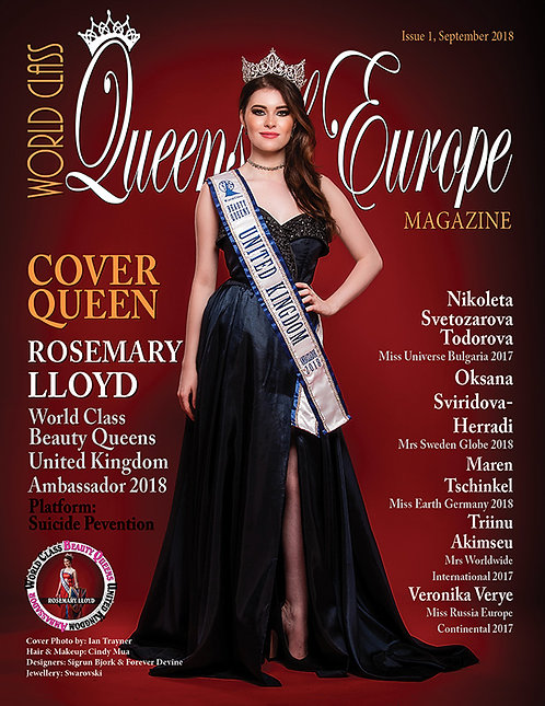 Issue 1 World Class Queens of Europe Magazine
