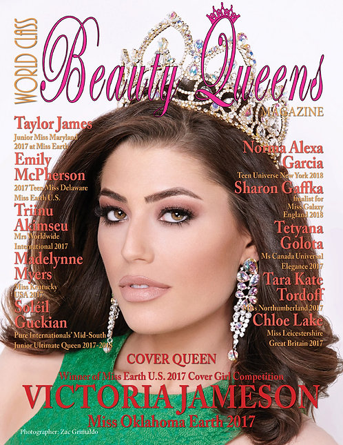 Issue 36 World Class Beauty Queens Magazine