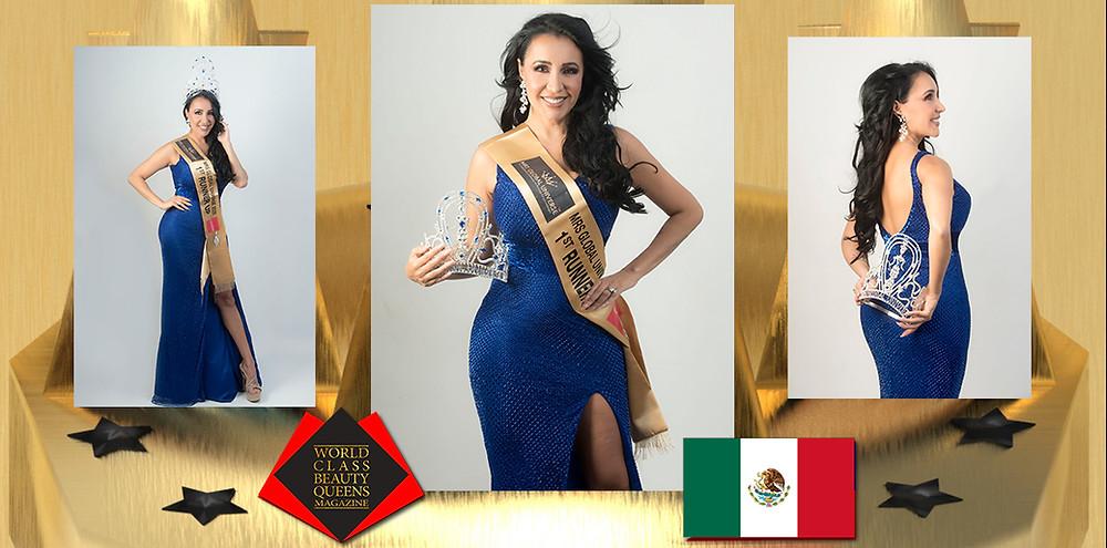 Claudia Magallon Mrs Global Universe 1st Runner Up, World Class Beauty Queens Magazine,