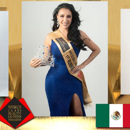 Claudia Magallon Mrs Global Universe 1st Runner Up