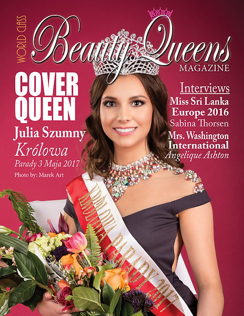 Issue 6 World Class Beauty Queens Magazine