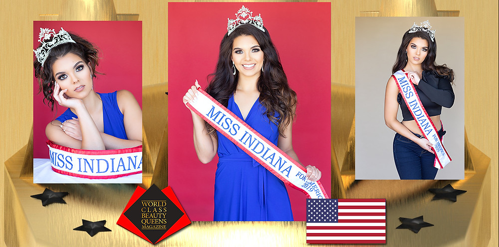 Mikayla Eaton Miss Indiana for America 2019, World Class Beauty Queens Magazine,