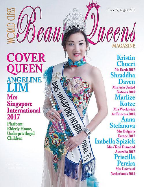 Issue 77 World Class Beauty Queens Magazine