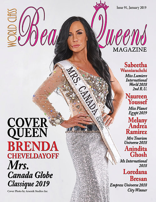 Issue 91 World Class Beauty Queens Magazine