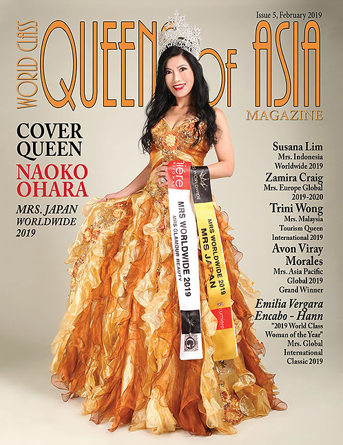 Issue 5 World Class Queens of Asia Magazine