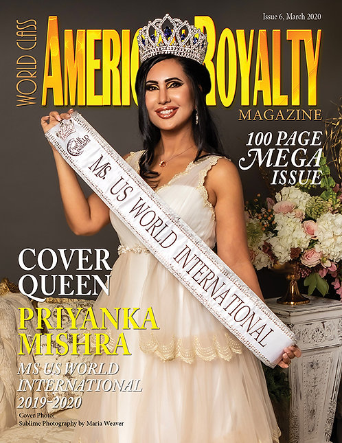 Issue 6 World Class American Royalty Magazine