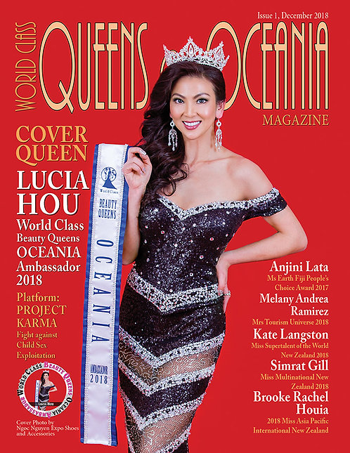 Issue 1 World Class Queens of Oceania Magazine