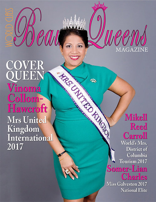 Issue 18 World Class Beauty Queens Magazine