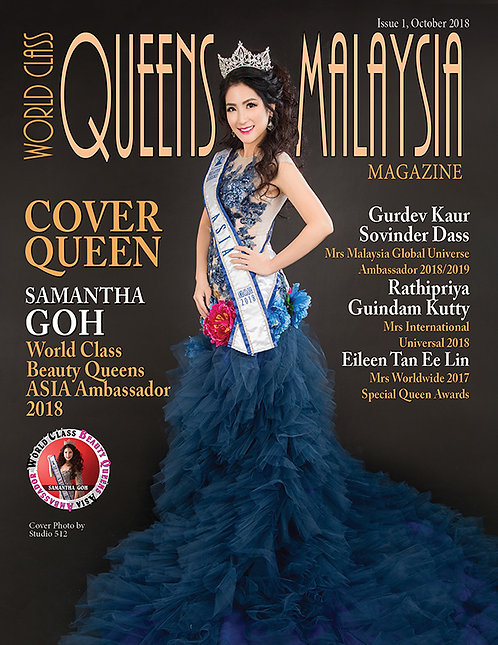 Issue 1 World Class Queens of Malaysia Magazine