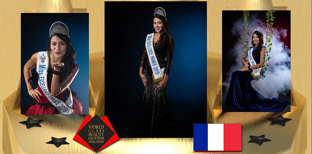 Maéva Serra Miss Excellence France 2019, World Class Beauty Queens Magazine,