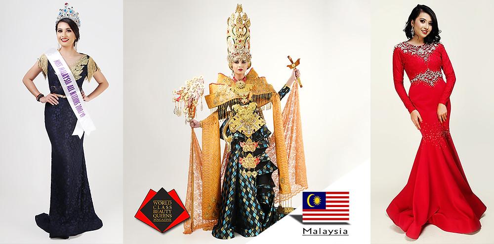 Niki Disvinder Kaur Miss Malaysia All Nations 2018/2019, World Class Beauty Queens Magazine
