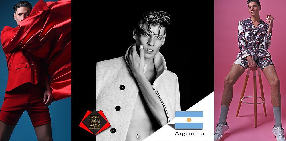 Leo Servetti, World Class Argentina Models Magazine,