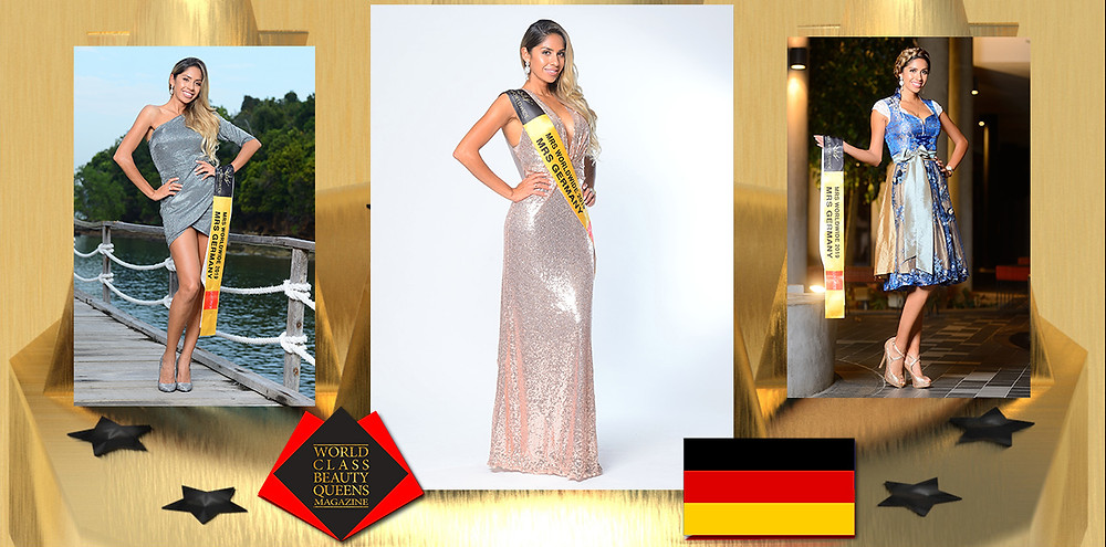 Dinorah Rodriguez Mrs Germany Worldwide 2019, World Class Beauty Queens Magazine,