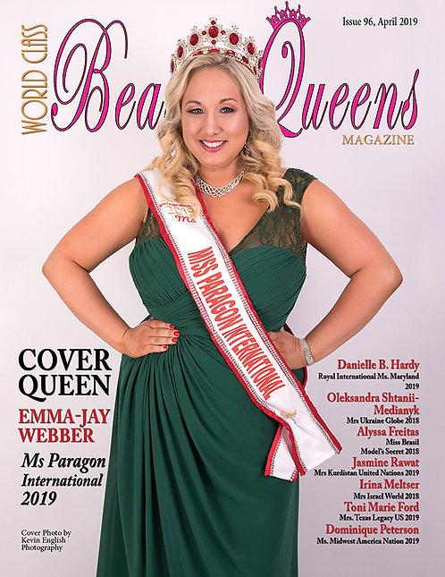 Issue 96 World Class Beauty Queens Magazine