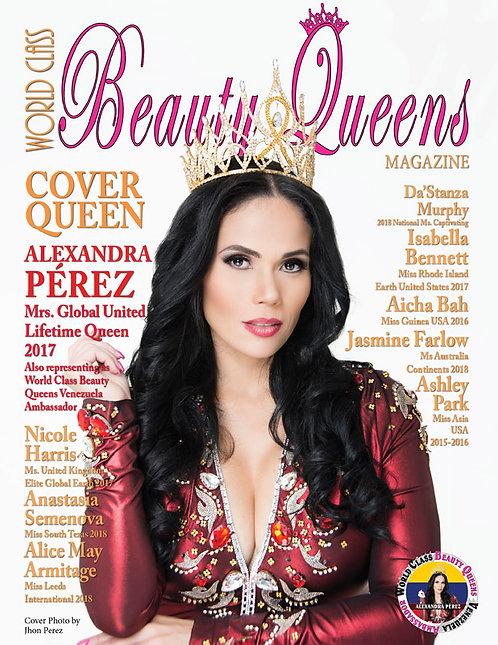 Issue 49 World Class Beauty Queens Magazine