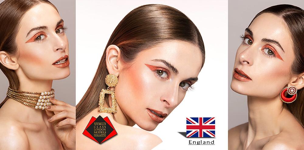 Gaby Guha, World Class London Models Magazine,