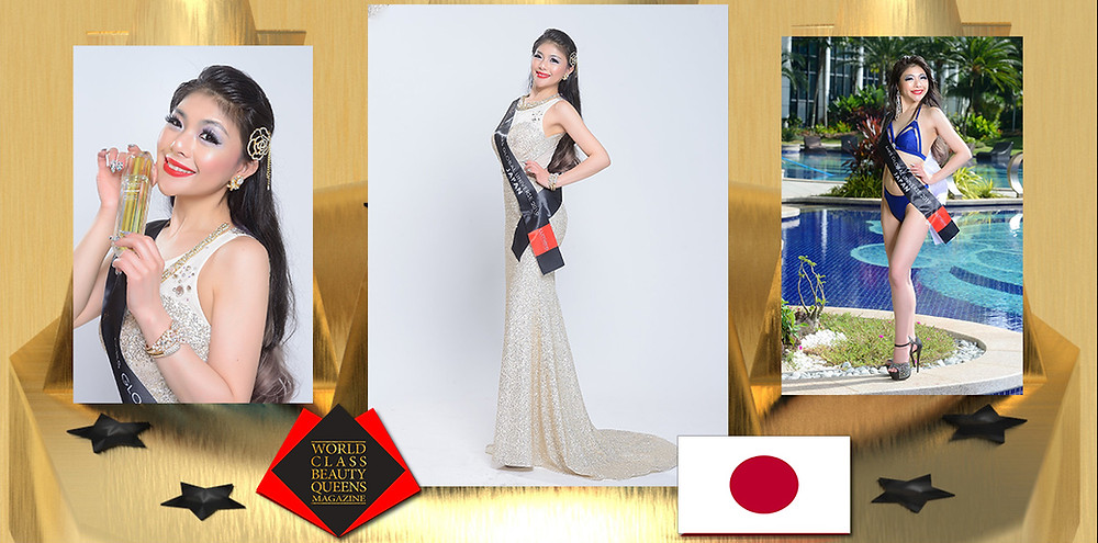 Rui Aizaki Mrs Japan Global Universe 2019, World Class Beauty Queens Magazine,
