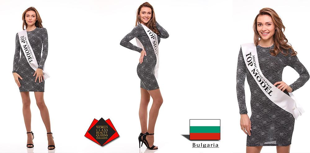 Iveta Kostadinova Mrs. Top Model Bulgaria 2018, World Class Beauty Queens Magazine,