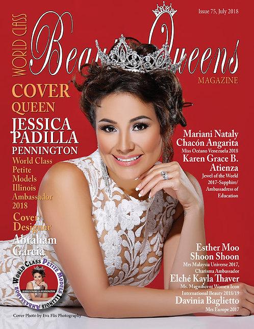 Issue 75 World Class Beauty Queens Magazine