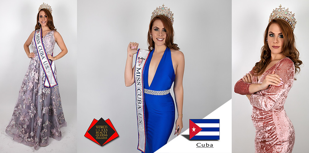 Jessica Maria Reyes Miss Cuba U.S. 2019, World Class Beauty Queens Magazine, Photo by Perfect Touch Photography