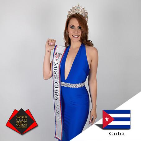 Jessica Maria Reyes Miss Cuba U.S. 2019