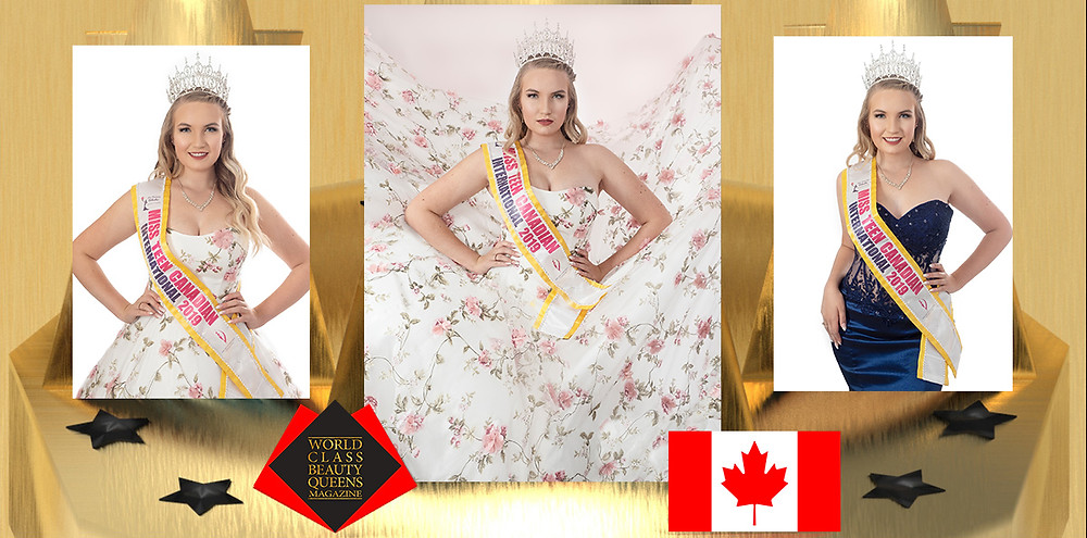 Abigail Birn Miss Teen Canadian International 2019/2020, World Class Beauty Queens Magazine