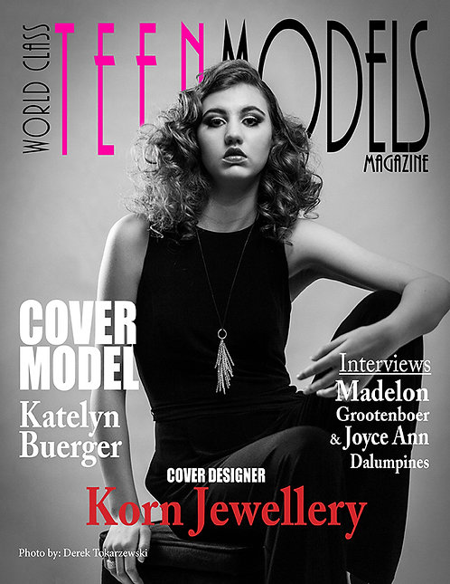 Issue 1 World Class Teen Models Magazine
