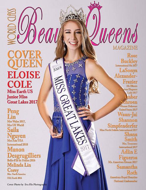 Issue 47 World Class Beauty Queens Magazine